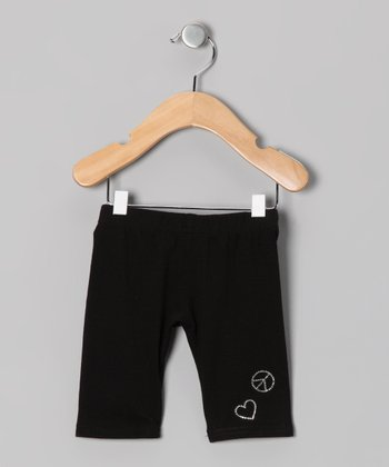 Black Capri Pants - Infant & Girls