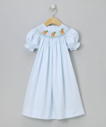 Baby Blue Bunny Bishop Dress - Infant, Toddler & Girls