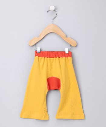Yellow Ha-Ha Smile Organic Pants