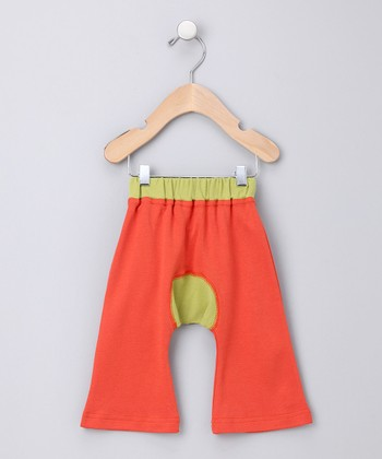 Red Ha-Ha Smile Organic Pants