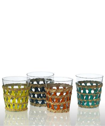 LaBamba Double Old Fasioned Glass - Set of Four
