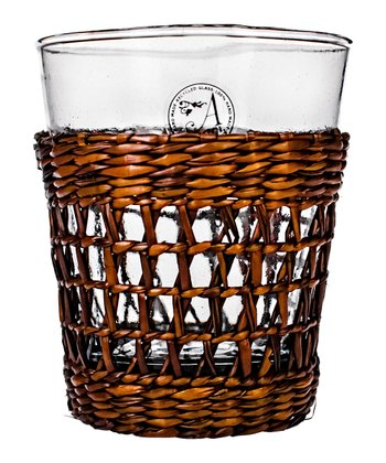 Bali Double Old Fashioned Glass - Set of Six