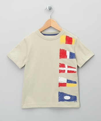 Stone Flag Organic Tee - Toddler & Kids