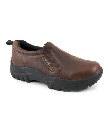 Tan & Brown Performance Slip-On - Women