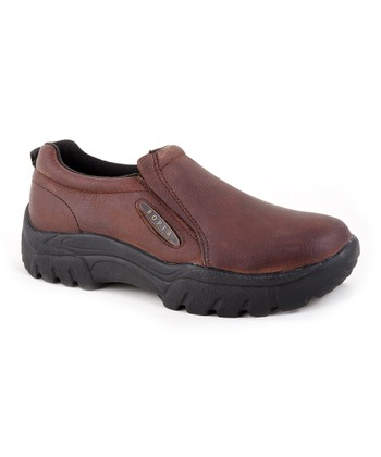 Brown Rust Performance Slip-On Shoe - Men