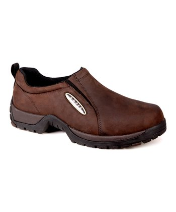Brown Waterproof Performance Slip-On - Men