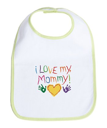 Kiwi & White 'I Love My Mommy' Bib