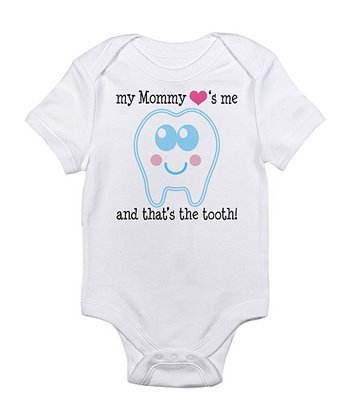 Cloud White 'Mommy Loves Me' Bodysuit - Infant