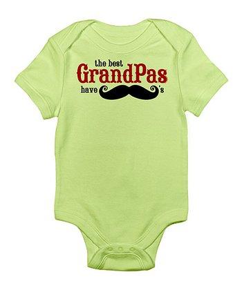 Kiwi 'The Best Grandpas Have Mustaches' Bodysuit - Infant