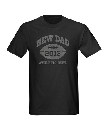 Black 'New Dad' Tee
