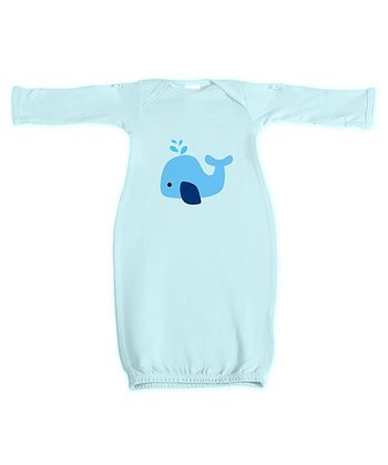 Blue Whale Spurt Gown