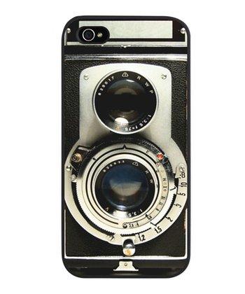 Black Vintage Camera Case for iPhone 5