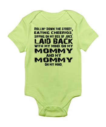 Kiwi 'With My Mind On My Mommy' Bodysuit - Infant
