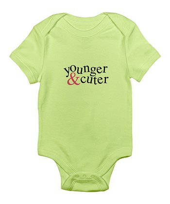Kiwi 'Younger & Cuter' Bodysuit - Infant