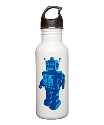 Robot 20-Oz. Water Bottle