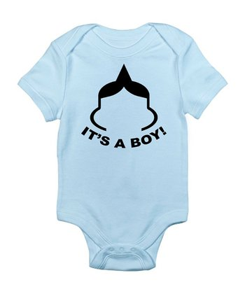 Sky Blue 'It's a Boy' Bodysuit - Infant
