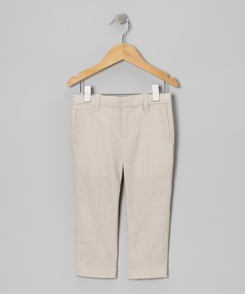 Sand Dressy Linen-Blend Pants - Infant, Toddler & Boys