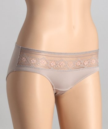 Desert Taupe Semi-Sheer Briefs
