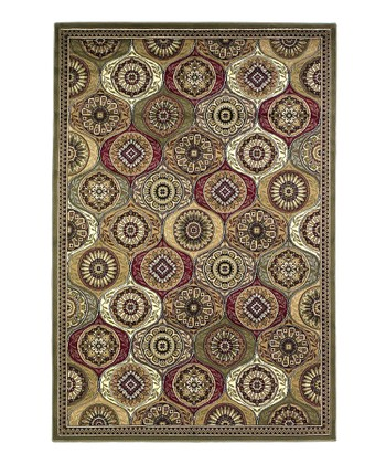 Multi Mosaic Panel Cambridge Rug