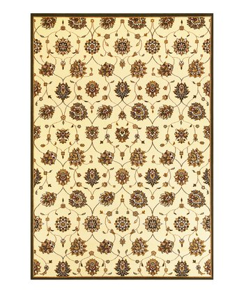 Ivory Tabriz Cambridge Rug