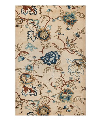 Ivory & Blue Catalina Rug