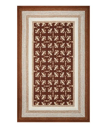 Mocha Tile Indoor/Outdoor Rug