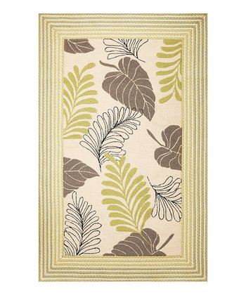 Ivory Whimsy Indoor/Outdoor Rug