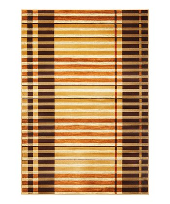 Earthtone Stripe Lifestyle Rug