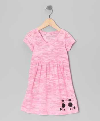 Light Pink Poodle Dress - Toddler & Girls