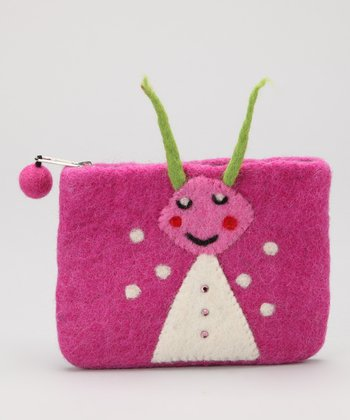 Fuchsia Ant Coin Purse