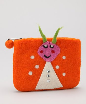 Orange Ant Coin Purse