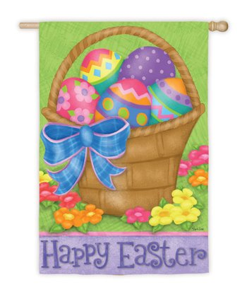Happy Easter Basket Flag