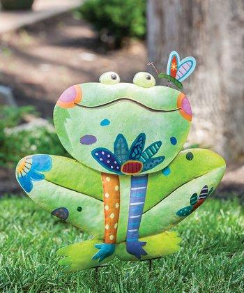 Frog Wild Garden Figurine