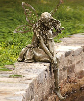 Thoughtful Lady Fairy Statue