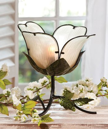 White Flower Lamp