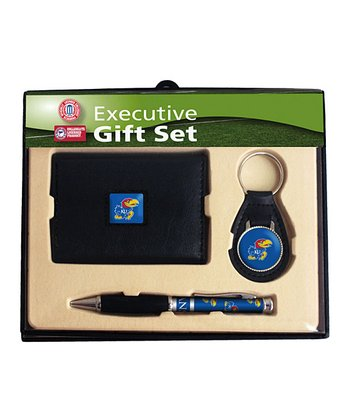 Kansas Tri-Fold Wallet Gift Set