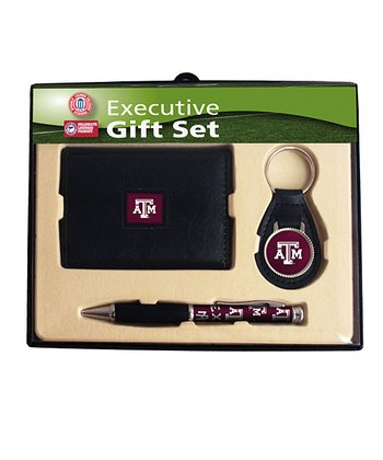 Texas A&M Tri-Fold Wallet Gift Set