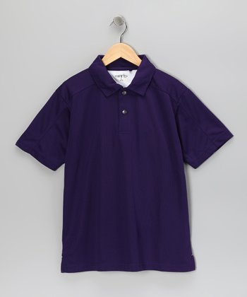 Purple Dave Polo - Boys