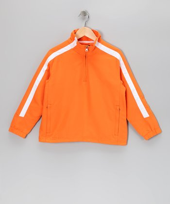 Orange Cameron Pullover - Boys