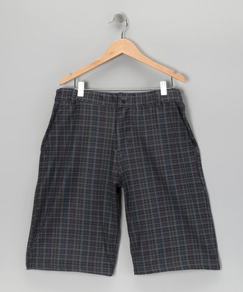 Steel Grayson Shorts - Boys