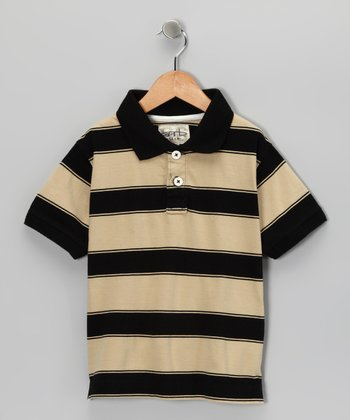 Vegas Gold Tyler Polo - Toddler & Boys