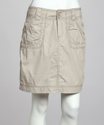 Latte Delaney Organic Skirt