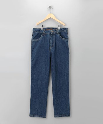 Blue Denim Carpenter Jean