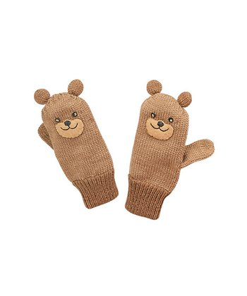 Wheat Bear Mittens