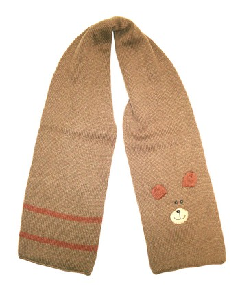 Brown Bear Scarf