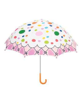 Pink Polka Dot The English Roses Umbrella