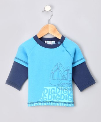 Blue Demolition Sweatshirt - Infant