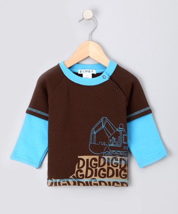 Brown Demolition Sweatshirt - Infant