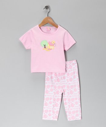 Pink Home Tee & Pants - Infant