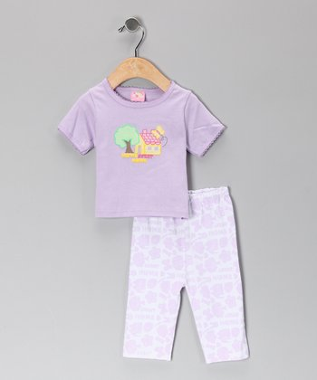 Purple Home Tee & Pants - Infant